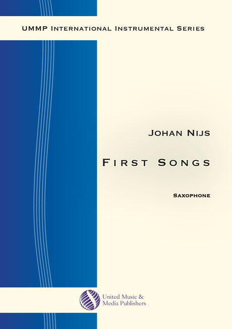 Nijs - First Songs for Saxophone - S191203UMMP