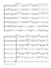 Seitz (arr. Johnston) - March Grandioso for Saxophone Choir - SC108