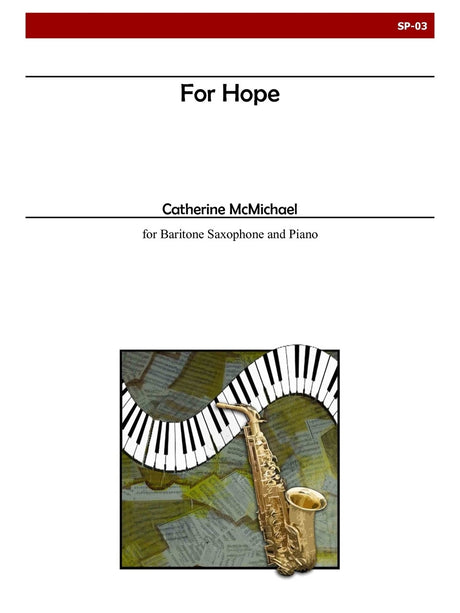 McMichael - For Hope (Baritone Sax) - SP03