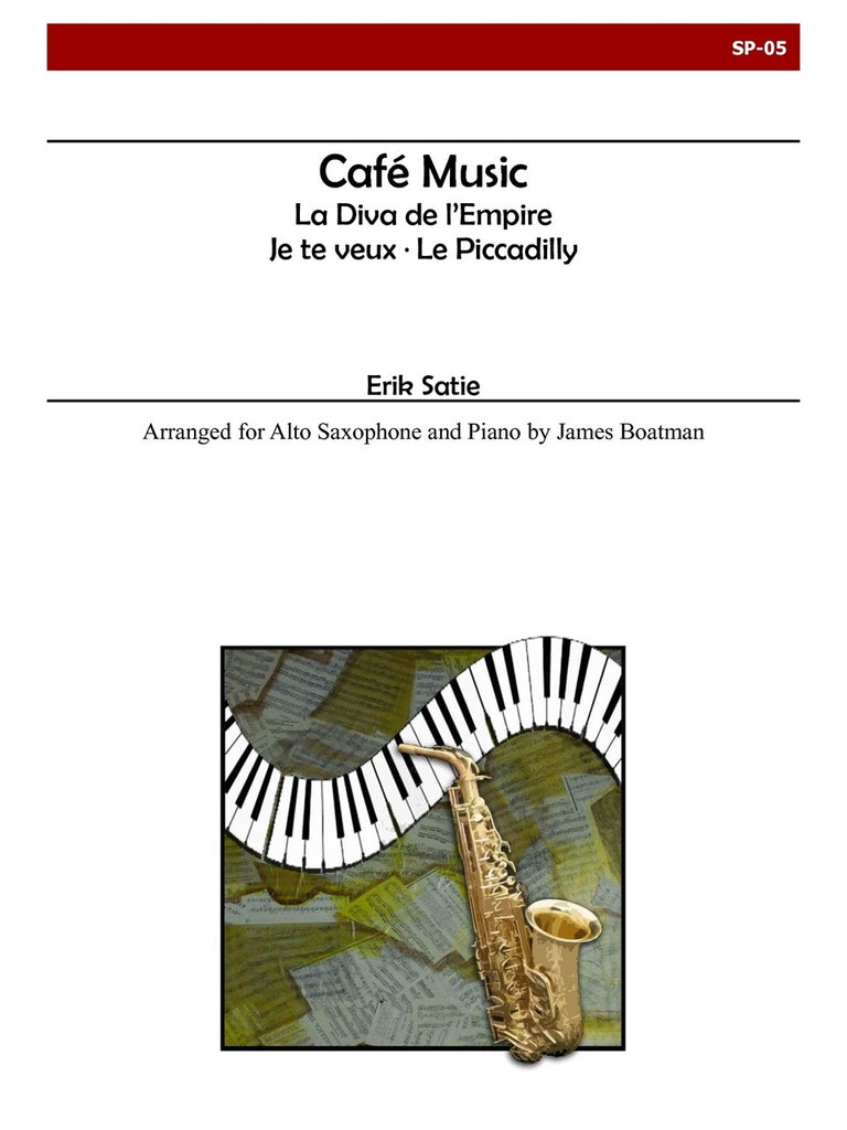 Satie - Cafe Music (Saxophone) - SP05