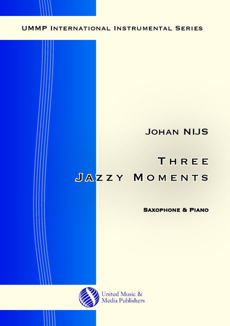 Nijs - Three Jazzy Moments for Saxophone and Piano - SP181003UMMP