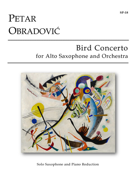Obradovic - Bird Concerto for Alto Saxophone (Piano Reduction) - SP18