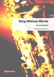 Takahashi - Song without words (Saxophone and Piano) - SP6776EM