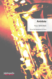 Verdonck - Antidote for Saxophone and Piano - SP6948EM