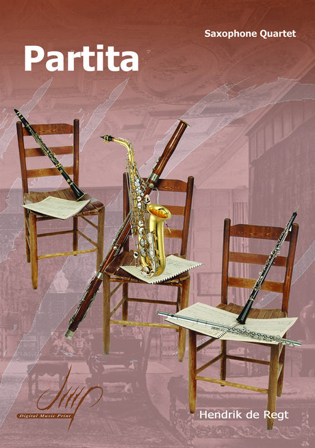de Regt - Partita for Saxophone Quartet - SQ108157DMP