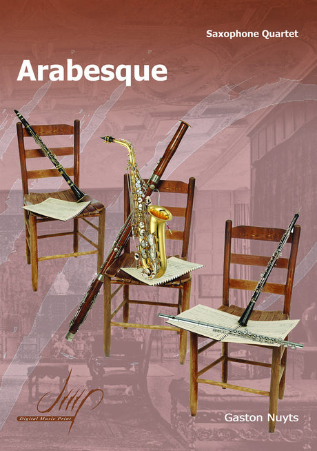 Nuyts - Arabesque (Saxophone Quartet) - SQ110074DMP