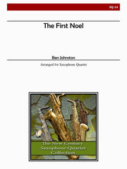 Johnston - The First Noel for Saxophone Quartet - SQ14