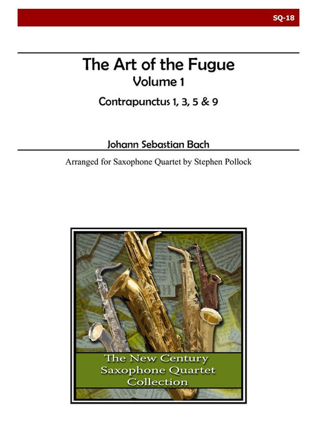Bach - The Art of the Fugue, Volume 1 (Contrapunctus 1, 3, 5, 9) - SQ18