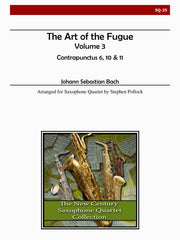 Bach - The Art of the Fugue, Volume 3 (Contrapunctus 6, 10, 11) - SQ25
