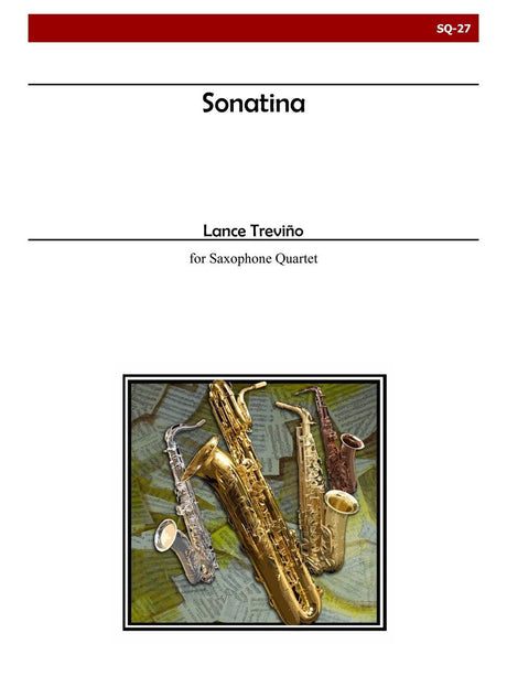 Trevino - Sonatina for Saxophone Quartet - SQ27