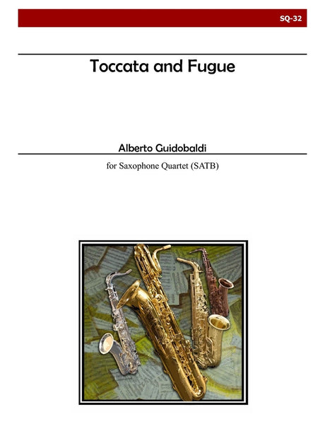 Guidobaldi - Toccata and Fugue - SQ32