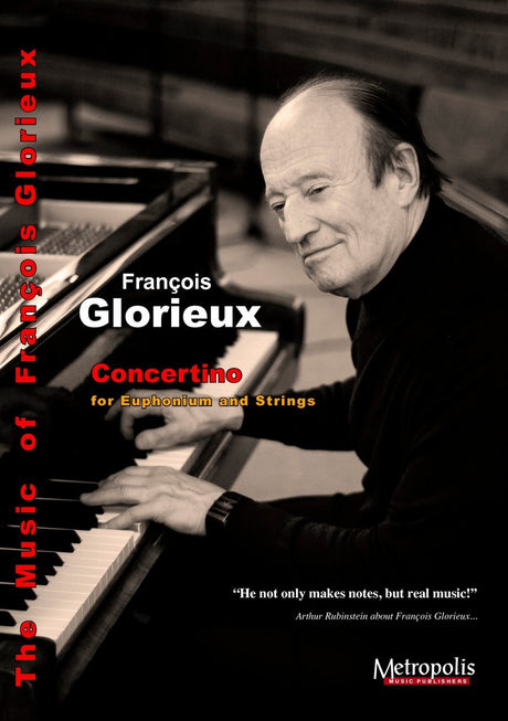 Glorieux - Concertino (Euphonium and Orchestra) - TBOR6627EM