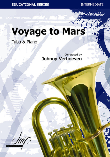 Verhoeven - Voyage to Mars (Tuba and Piano) - TBP113169DMP