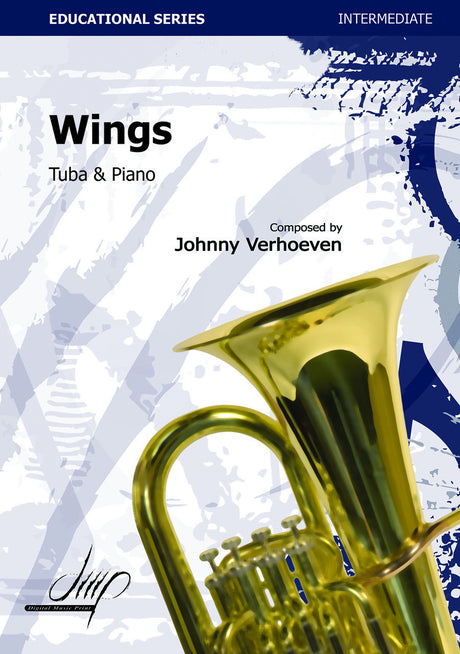 Verhoeven - Wings (Tuba and Piano) - TBP113176DMP
