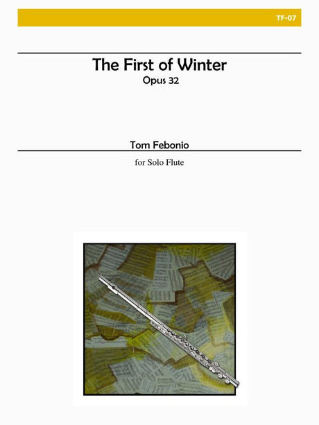 Febonio - The First of Winter for Solo Flute - TF07