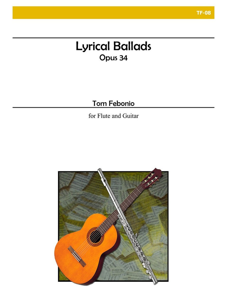 Febonio - Lyrical Ballads for Flute and Guitar - TF08