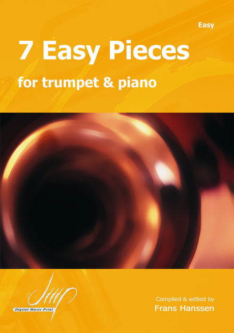 7 Easy Pieces for Trumpet and Piano - TP10614DMP