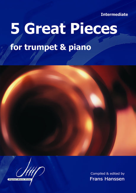 5 Great Pieces for Trumpet and Piano - TP10615DMP