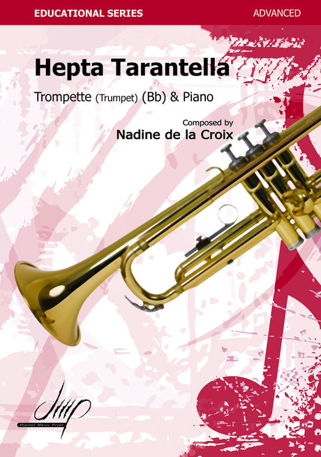 de la Croix - Hepta Tarantella for Trumpet and Piano - TP110095DMP