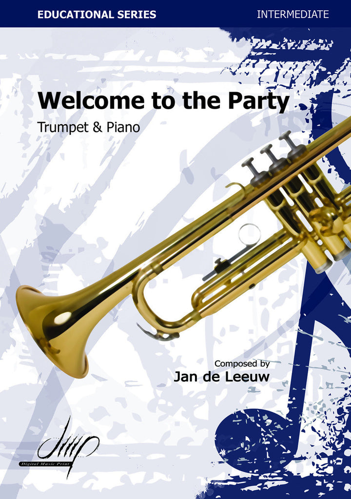 de Leeuw - Welcome to the Party (Trumpet and Piano) - TP113045DMP