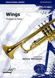 Verhoeven - Wings (Trumpet and Piano) - TP113174DMP