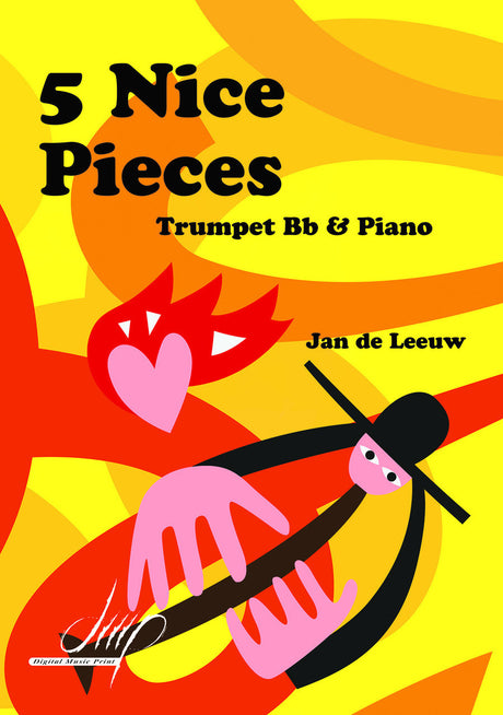 de Leeuw - 5 Nice Pieces for Trumpet and Piano - TP115003DMP