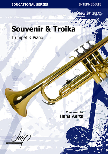 Aerts - Souvenir and Troika (Trumpet and Piano) - TP115034DMP