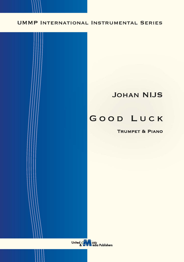 Nijs - Good Luck for Trumpet and Piano - TP130104UMMP