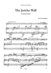 Van Landeghem - The Jericho Wall (Trumpet and Piano) - TP6021EM
