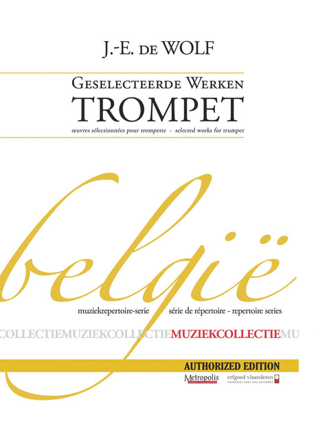 De Wolf, J. E. - Selected Works for Trumpet and Piano - TP7304EM