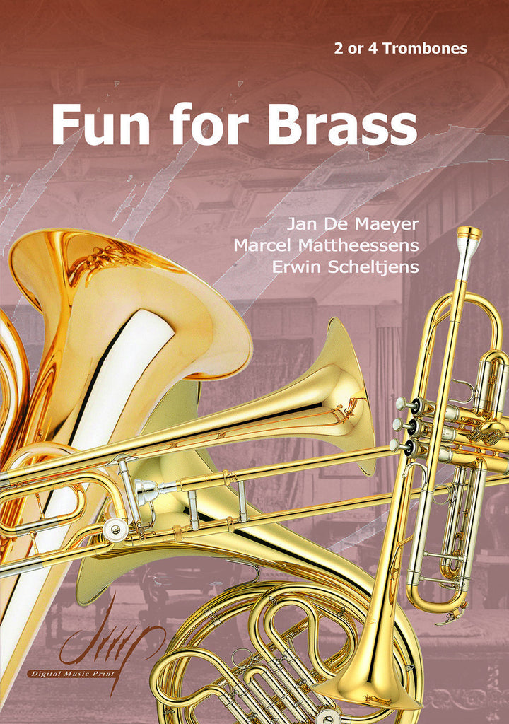Fun for Brass for 2 and 4 Trombones - TRC107014DMP