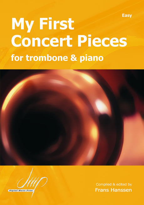 My First Concert Pieces for Trombone and Piano - TRP10613DMP