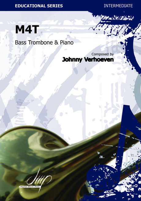 Verhoeven - M4T (Bass Trombone and Piano) - TRP109060DMP