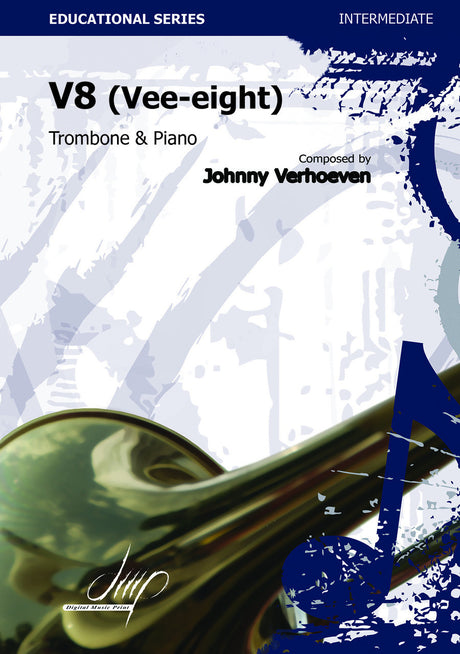 Verhoeven - V8 (Trombone and Piano) - TRP109071DMP