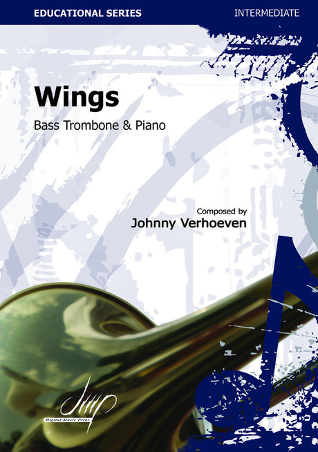 Verhoeven - Wings (Bass Trombone and Piano) - TRP113172DMP