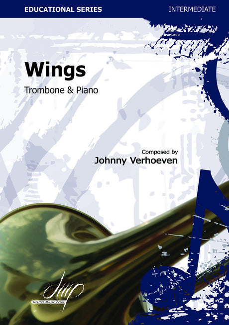 Verhoeven - Wings (Trombone and Piano) - TRP113175DMP