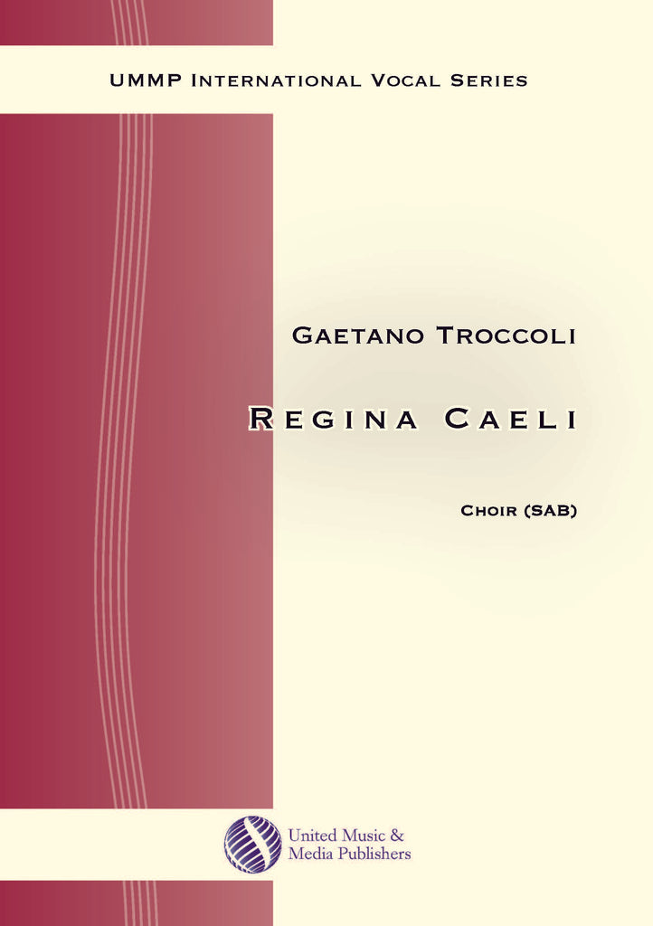 Troccoli - Regina caeli for Mixed Choir (SAB) - V170202UMMP