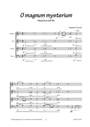 Troccoli - O magnum mysterium for Mixed Choir (SATB) - V170204UMMP