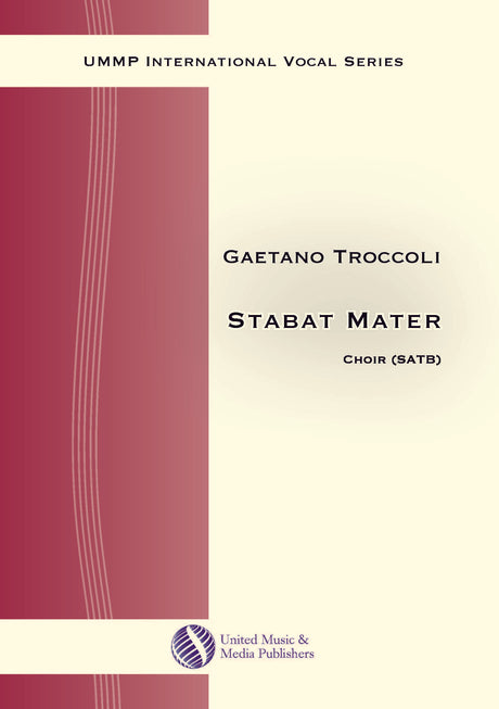 Troccoli - Stabat mater for Mixed Choir (SATB) - V170206UMMP