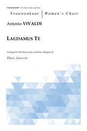 Vivaldi - Laudamus Te for SS Choir, Piano and Flute Obbligato - V181204UMMP