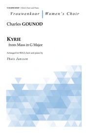 Gounod - Kyrie from Mass in G Major for SSAA Choir and Piano - V181209UMMP