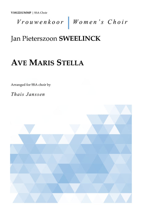 Sweelinck - Ave Maris Stella for SSA Choir - V181221UMMP
