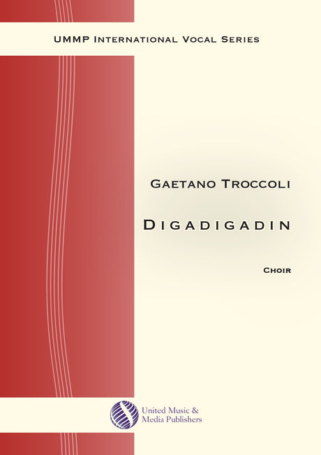 Troccoli - Digadigadin for Mixed Choir (SATB) - V190403UMMP