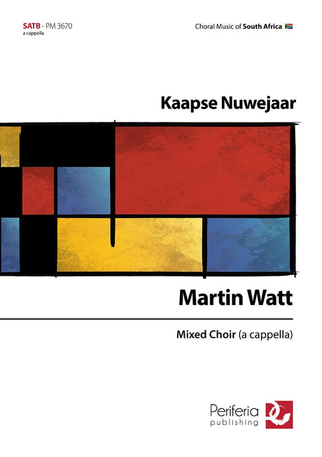 Watt - Kaapse Nuwejaar for Mixed Choir (SATB) - V3670PM