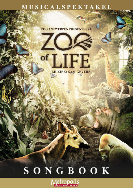 Gevers - Zoo of Life (Songbook) - V7216EM