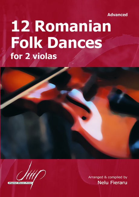 Fieraru - 12 Romanian Folk Dances (Viola Duet) - VAD10695DMP