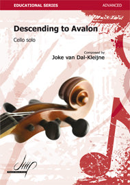 van Dal-Kleijne - Descending to Avalon for Cello Solo - VCE117063DMP
