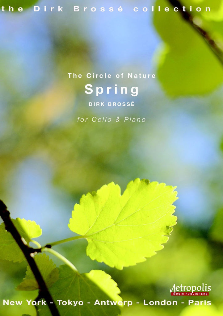 Brosse - Spring (Cello and Piano) - VCP6187EM