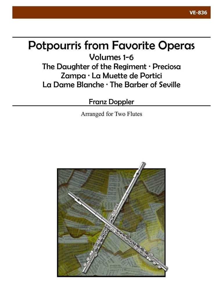 Doppler - Potpourris from Favorite Operas - VE836