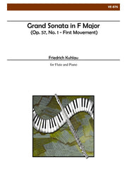 Kuhlau - Grand Sonata in F Major, First Movement - VE876